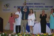 Ganadores del I Congreso Médico Nacional y III Jornada Científica INSS-EMP´s/USRP´s
